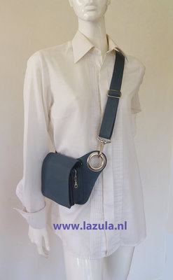 iPhone Bag - Grey - Silver - Curvy